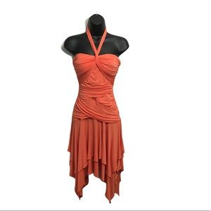 NEW BCBGMAXAZRIA Halter Formal Dress XS